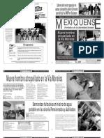Versión impresa del periódico El mexiquense 8 noviembre 2013