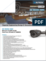 AM-DM2062-VMR5- Avtron Bullet IP Camera.pdf