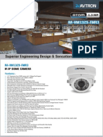 Avtron IR IP Dome Camera AA-HM1329-FMR3.pdf