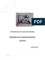 DIFFERENTIAL BASED HEADLIGHT SYSTEM.doc