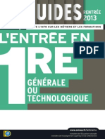 Guide 1re (Rentree 2013)