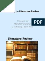 Ppt Literature Rw