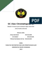 makalah kromatografi gas