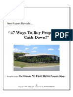 47 Ways To Buy Property No Cash Down.pdf
