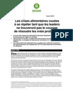 2012 Food Price Hikes - Media Advisory - Final Fr Oi