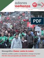 Revista Trabajadores de la Enseñanza. Noviembre de 2013
