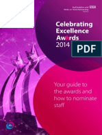 Celebrating Execllence Awards 2012 - Your Guide to The Awards and How to Nominate