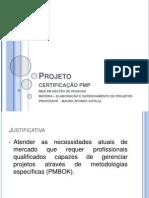 Projeto Certificação PMP - comentarios BBP