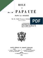 Role de La Papaute Dans La Societe 000000629