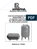 MAXIVAREM LS - Vase hidrofor - Manual tehnic.pdf