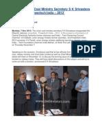 Mumbai Union Coal Ministry Secretary S K Srivastava inaugurates.pdf