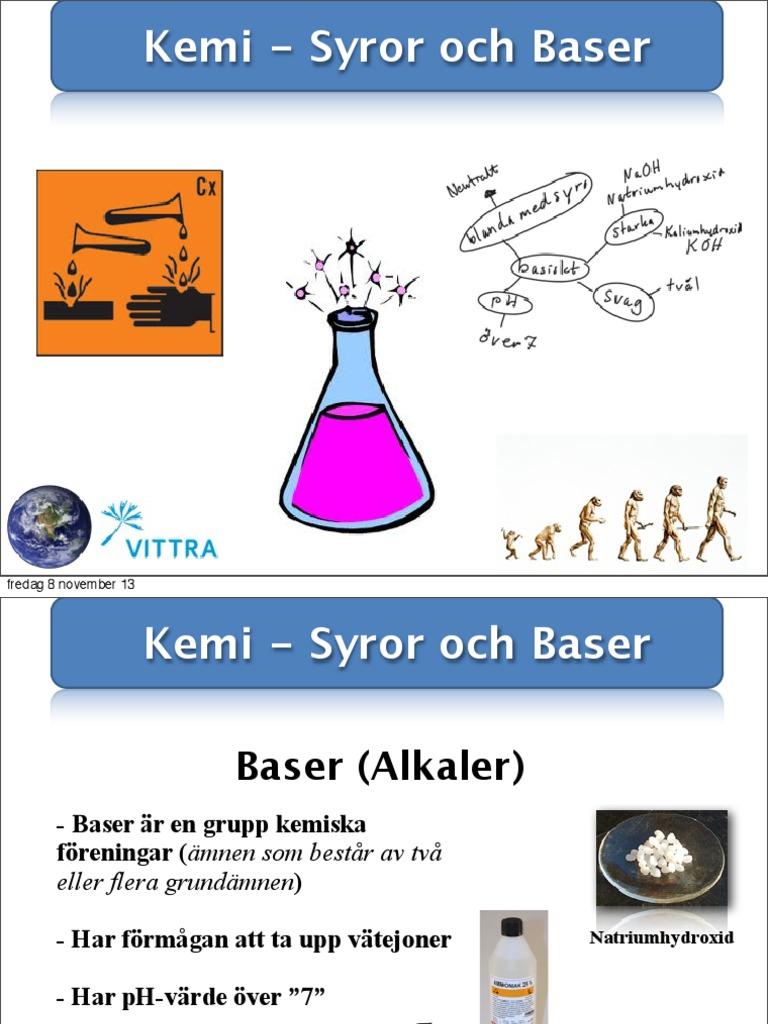 kemiska föreningar