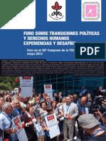 FIDH Forum Istambul Note Es 2013
