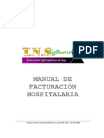 Manual Facturacion Hospitalaria