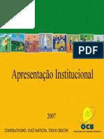 A Present a Cao Ocb Cooperativism o Brasileiro