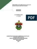 KUALITAS KARAGINAN RUMPUT LAUT JENIS Eucheuma spinosum DI PERAIRAN DESA PUNAGA KABUPATEN TAKALAR.pdf