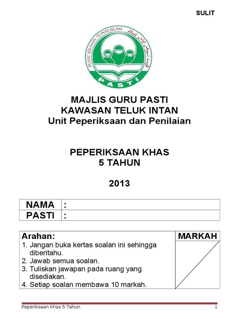 Contoh Soalan Bahasa Melayu Tadika 6 Tahun - J Kosong w