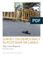 Top line survey results