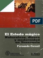 Coronil Fernando_la Guerra de Los Motores_El Estado Magico