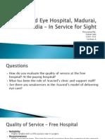 Aravind Eye Hospital, Madurai, India PPT