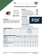 Optoacopladores 4N25 4N26 4N27 4N28
