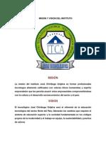 2.- MISIÓN Y VISIÓN DEL INSTITUTO Y LA CARRERA.docx