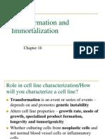 Transformation and Immortalization
