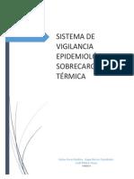 SISTEMA DE VIGILANCIA EPÍDEMIOLOGICA