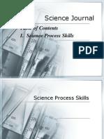 Science Process Skills 1 2 2