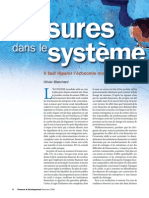 """OlivierBlanchard; Economiste en chef du FMI """"Fissures dans le système. il faut réparer l'économie mondiale"""""""""""
