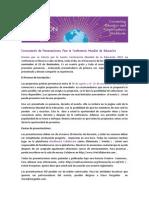 Convocatoria de Presentaciones Para la Conferencia Mundial de Educación.pdf