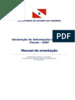 Manual DIEF 2013 v1-0