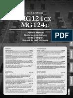 mg124cx Manual
