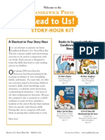 Candlewick Press Read to Us! Story Hour Kit - Spring 2014