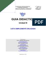 Guia Didactica 4 - Lista
