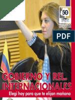 Gobierno y Rel. Internacionales