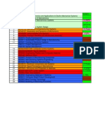 Course Master Timetable