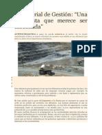 Propuesta de Gestion en Mineria