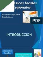 71 Anestésicos locales y regionales