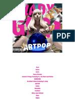 Digital Booklet - ARTPOP