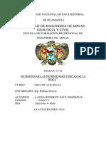 Informe Prpiedades Fisicas de Las Rocas