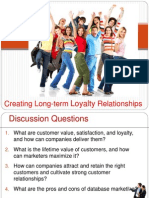 Creating Long-term Loyalty Relationships.ppt