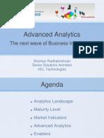 Advance Analytics