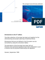 Drive Formulae - LENZE the Compact Formula Collection