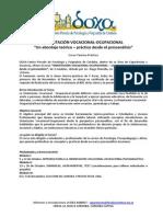 Programa Orientación Vocacional - 2013