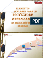 Proyecto de Aprendizaje Ed. Media General