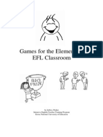 Games for the Elementary EFL Classroom