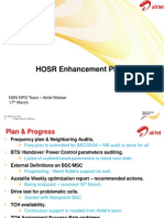 NSN Handover Success Rate Improvement Plan