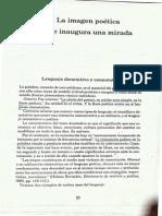 II Imagen Poetica, El Arte Inaugura Una Mirada (Pp23-30)