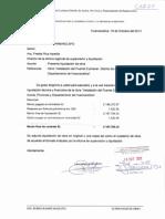 Liquidacion Obra Cucharan